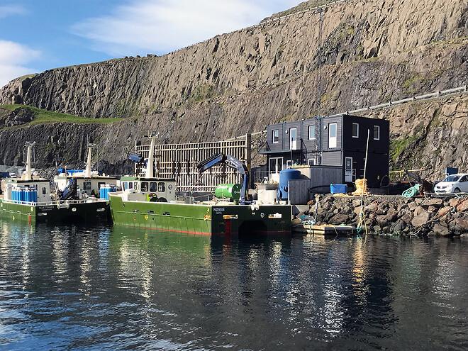 DC-Supply A/S leverer Kantine og mødelokale i special container løsning til Færøerne