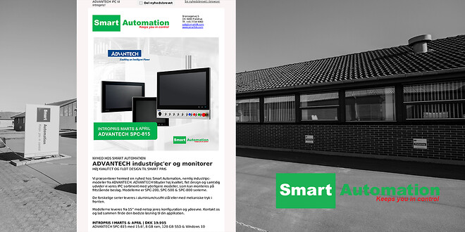 Automation | Nyheder fra Smart Automation ApS | marts 2021
