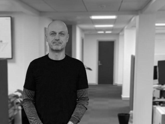 Ny medarbejder i KeepFocus serviceafdeling, Kenneth Astorp, skal arbejde med VVS-relaterede opgaver.
