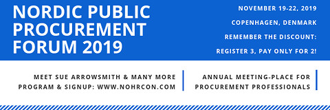 Nordic Public Procurement Forum 2019 - Nordic Public Procurement Forum 2019