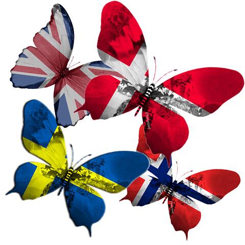 Översättning till danska, norska och engelska