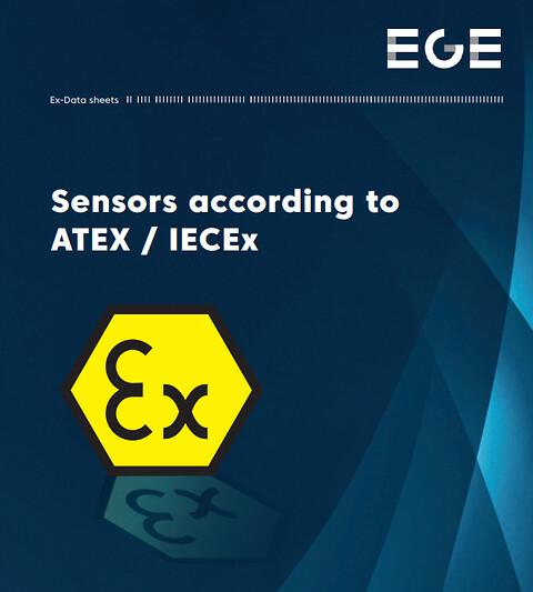 Sensorer til ATEX/EX indsats  . - Atex/EX sensorer.\nEGE-Elektronik.