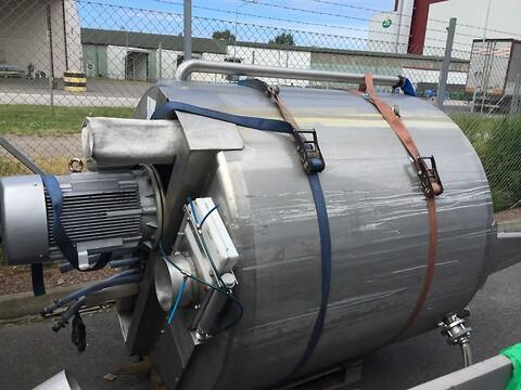 Rostfri tank