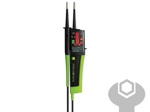Spændingstester med digital 2100A elma