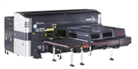 Amada LC-C1 AJ fiber laser kombi maskin