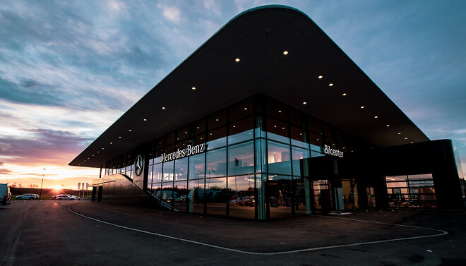 Nya MB Bilcenter Nyköping, foto: Daimler/MyNewsDesk