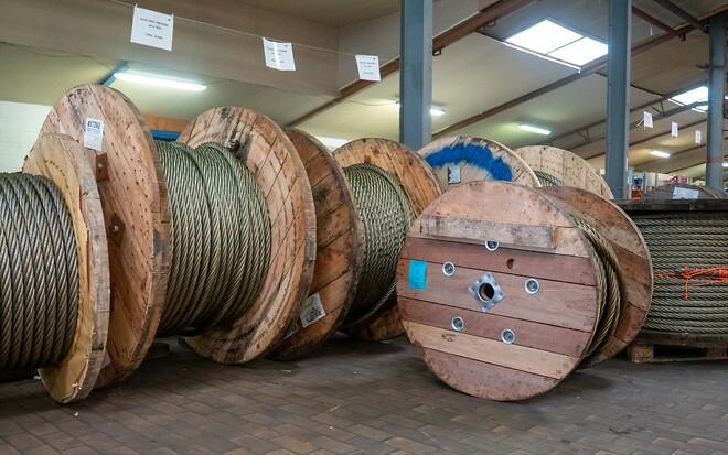 Vi fører hele tiden et stort lager af mange forskellige stålwirer