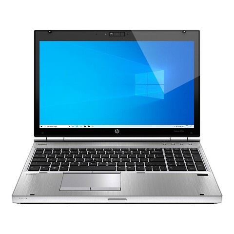 "15"" hp elitebook 8570p - intel i5 3320M 2,6GHz 240GB ssd 8GB Win10 pro - grade b - bærbar computer"