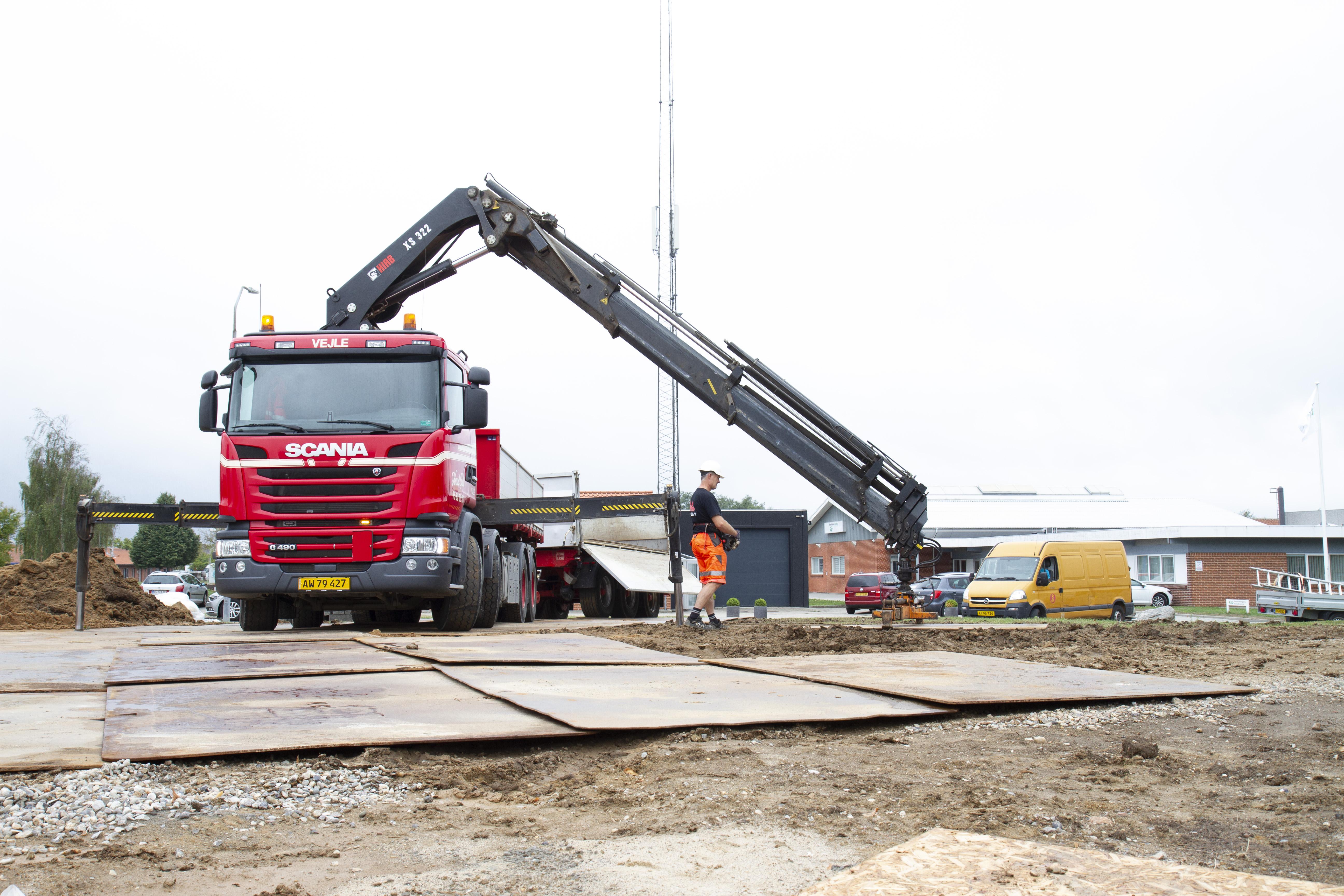 Udlejning af køreplader - Building Supply DK