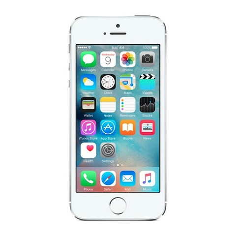 Apple iphone 5S 32GB (sølv) - grade b - mobiltelefon