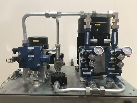 Oppgradering av mekanisk utstyr - IKM Hydraulic Services