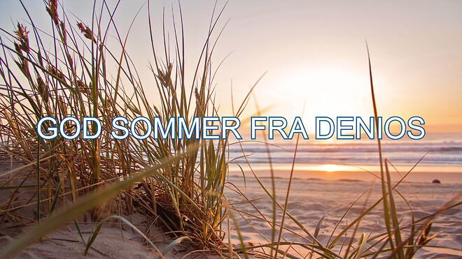 God sommer fra DENIOS