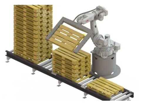 RoboPall™Pallevender leveres av RobotNorge