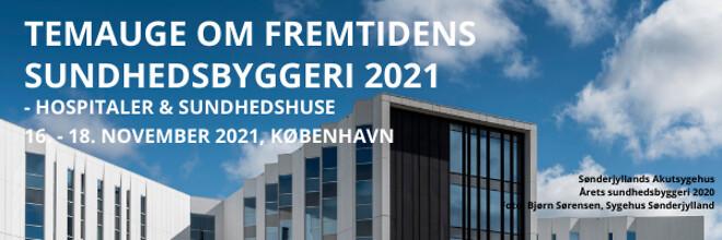 Temauge om fremtidens sundhedsbyggeri 2021 - hospitaler og sundhedshuse - Nohrcon