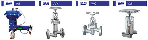 AVK Flow Control er leveringsdygtige i sædeventiler