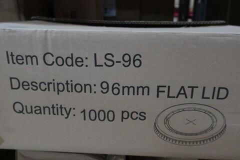 20000 stk. fladt låg - 96 mm. - type LS-96