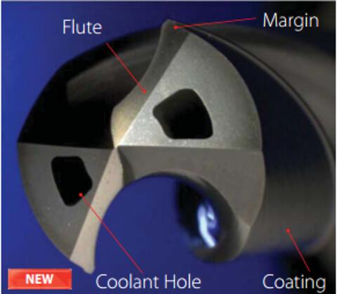 OSG hårdmetallborr ADO-SUS-3, 5 och 8xD - OSG ADO-SUS borr