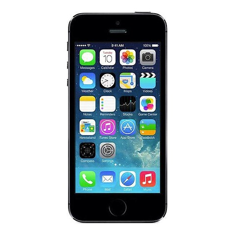 Apple iPhone 5S 64GB (Space Gray) - Grade C - mobiltelefon