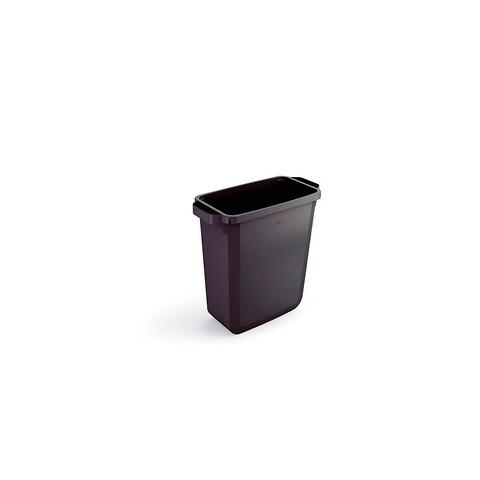 Plastbeholder 60L 590x282x600 mm - sort
