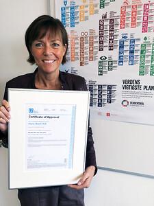 ISO 14001 certificering til Hans Buch