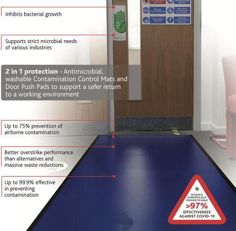 Antibakteriel gulvbelægning virker også mod Covid-19!