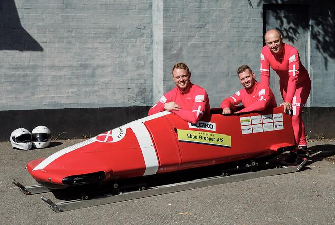 Skou Gruppen er hovedsponsor for Bobslæden Danmark.