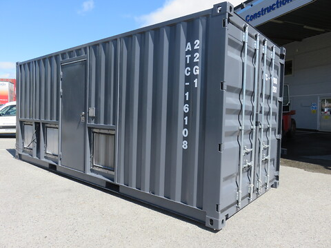 Spesialcontainer fra Trans Construction