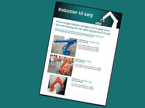 Brugte robotter til salg