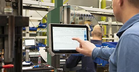 Digitalisering af produktionsflow med apps til MS Dynamics 365 BC - Digitalisering af produktionsflow med apps til MS Dynamics 365 BC