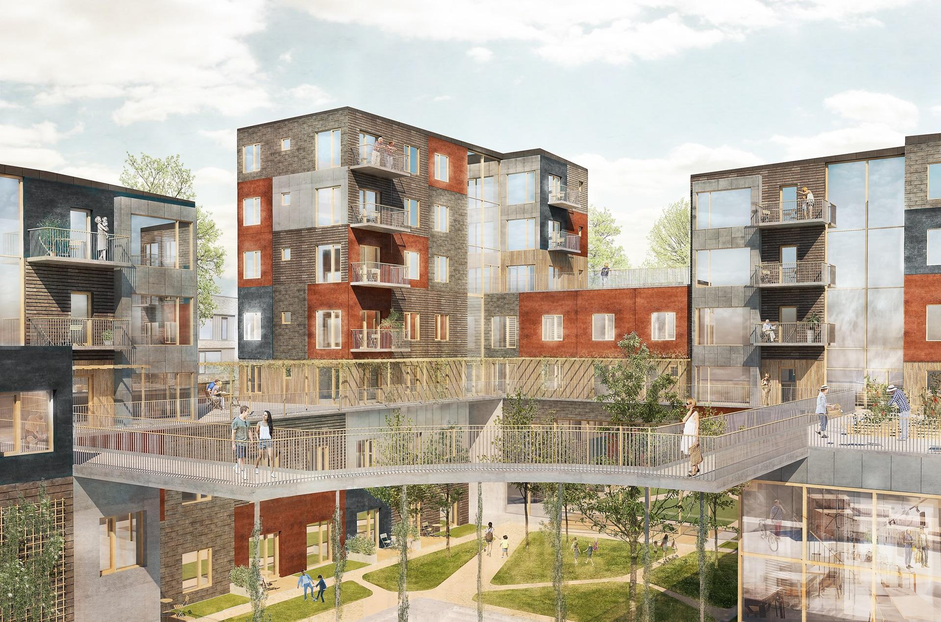 Godt Byggefællesskab vil opføre Danmarks højeste træhus - Building EY48