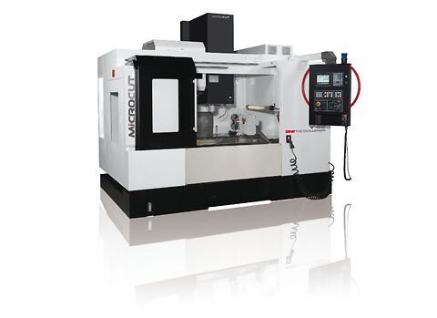 Microcut vertikal fleroperationsmaskin modell V22 för omgående leverans