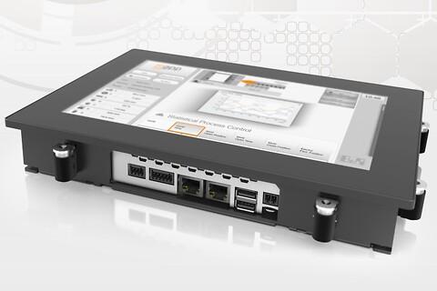 Controller og multi-touch HMI i én enhed