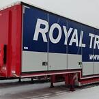 Før jul leverede vi disse 2 ret flotte nedbyggede kapeltrailere til Royal Transport AS i Bergen.