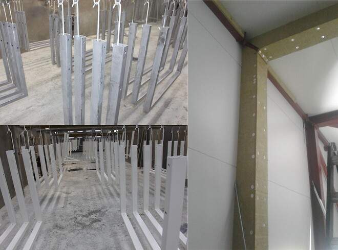 Renovering af byggeri. Overfladebehandling og brandsikring.