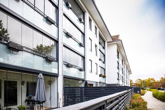 Glasinddækkede altaner sparer på energien