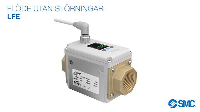 LFE, elektromagnetiskt digital flödesvakt