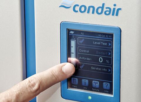 Condair EL: ångbefuktare med fläktenhet - Condair EL dampbefugter med ventilatorenhed.