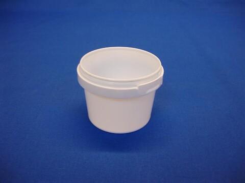Plastbøtte 5101 - 120 ml. - hvid
