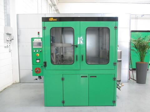 Rensning af partikelfilter og katalysatorer ved BG Diesel - Flash Cleaner Maskine