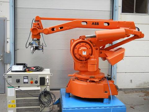 ABB robot IRB640 M98 S4 160kg/3.2m  ( Äkta Palletizer )