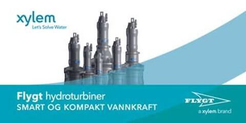 Flygt hydroturbiner - Smart og kompakt vannkraft