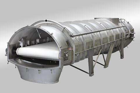 Nikodan Process Equipment A/S - Krystaliseringstransportør til krystalisering eller pulverisering af mælkepulver