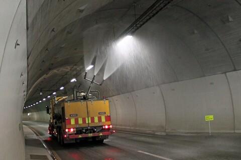 Tunnelvask fra Norkem AS - Tunnelvask, tunnel rengjøring, kjemikalier til tunnelvask