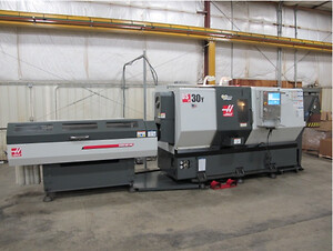 Haas DS30Y, maskinering, noble