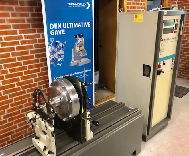 Technoflex afbalanceringsmaskine til enkelt styk samt serier