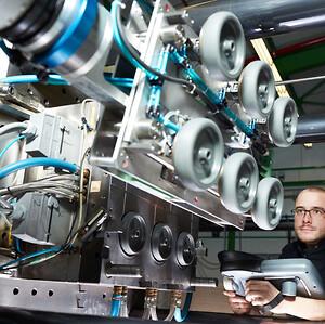 Stabil kørsel og støjsvaghed er nogle af de vigtigste elementer for robotter.