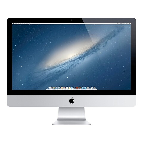 "27"" Apple iMac - Intel i5 3470S 2,9GHz 1TB HDD 8GB (Late-2012) - Grade A - stationær computer"