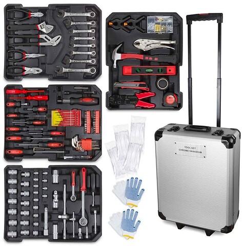 Trolley med 1050 dele værktøj(ubrugt)