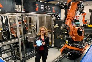 QRS, HMI brugerflade, HMI, robotcelle, brugervenlig, robot, industriel automation, automation, quality robot systems