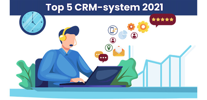 top 5 crm-system 2021